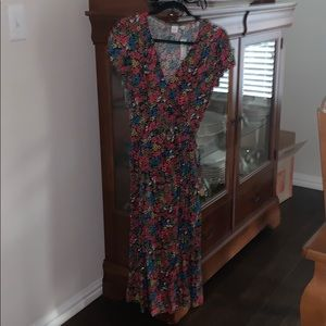 Women's Floral Wrap dress NWT